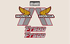 HONDA FT 500 '82 MOTORRAD ROT AUFKLEBER