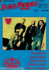 Iron Pages Nr.26 - 1/1994,Prong,Metal Church,Dream Theater,DIO,Kreator,Crowbar