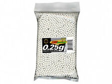 TSD SPORTS 6mm Polished Seamless .25g Airsoft BBs 5000 count WHITE BB .25