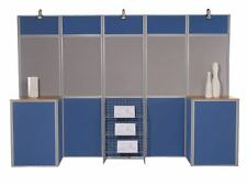 16 Panel Display Stand Exhibition System Pole-panel Kit
