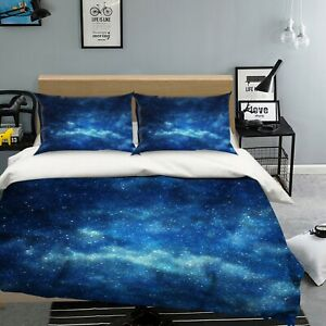 3D Starry Sky NAO9279 Bed Pillowcases Quilt Duvet Cover Set Queen King Fay