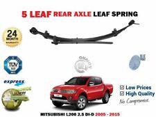 FOR MITSUBISHI L200 2.5TD DID PICKUP 2005-2015 NEW 1 X REAR AXLE LEAF SPRING