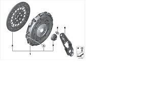 MINI OEM 07-12 Cooper-Clutch Pressure Plate 21208607915
