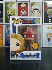 Funko Pop Vinyl / Captain Marvel Chase Edition - Marvel Movie Line Rare