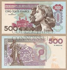 Monaco 500 Francs 2016 UNC SPECIMEN Test Note Banknote - Grace Kelly Rainier