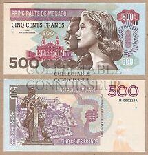 Monaco 500 francos 2016 UNC SPECIMEN Prueba Nota BILLETE-Grace Kelly Rainier
