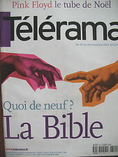 2710 DAVID GILMOUR ROGER WATERS LA BIBLE PETER JACKSON TOLKIEN TELERAMA 2001
