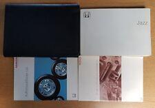 GENUINE HONDA JAZZ OWNERS MANUAL HANDBOOK WALLET 2001-2005 PACK D-748