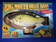 Big Mouth Billy Bass ~ Singing Fish