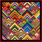 """PINNACLES - 57"""" - Quilt-Addicts Pre-cut Patchwork Quilt Kit Lap"""