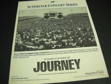 JOURNEY Superstar Concert Series original 1983 RSM Promo Display Ad