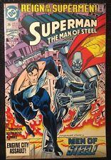 DC COMICS - SUPERMAN THE MAN OF STEEL #26 OCT 93 - REIGN OF THE SUPERMEN! - 1993
