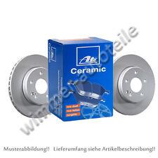 ATE Bremsscheiben + CERAMIC Bremsbeläge hinten AUDI  256x22mm  PR-Code: 1KF 2EH