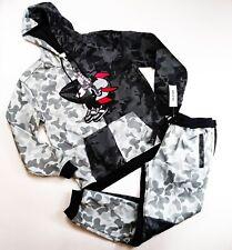 Reason Brand mens 100%AUTHENTIC 2p set L/S hoodie & pants size Large multicolor