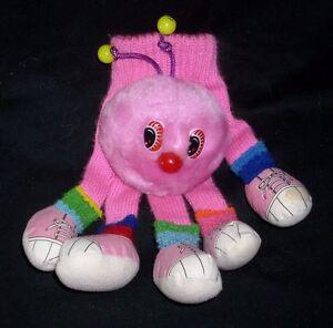 VINTAGE 1985 COMMONWEALTH LOTS-A LOTS LEGGGGGS PUPPET GLOVE STUFFED ANIMAL PLUSH