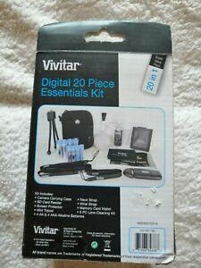 Digital 20 Piece Essentials Kit by Vivitar