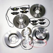 Bmw 3er e46  Bremsscheiben Bremsen Set Beläge Backen Sensoren für vorne hinten*