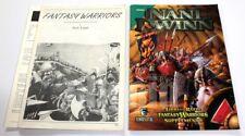 FANTASY WARRIORS WARGAME LIBRO DELLE REGOLE 1991 Stratelibri + NANI DEL DWINN