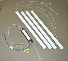2x2 24W LED Retrofit Kit (10 sets) Replace 80Watts of  Fluorescent.  6000K