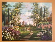 "30""x40"" ORIGINAL PAINTING OIL ON CANVAS 'SOMEWHERE OF KATY TEXAS"""