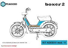 ADESIVI PIAGGIO BOXER Mod.11