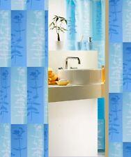 Duschvorhang  180 x 200 cm Kora Hell Blau Hochwertige Textil Schweiz Markenware