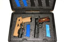 New 4 Tactical Pistols + 13 mags foam kit fits your Pelican 1450 case