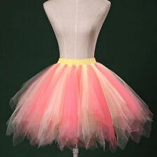 USA Adult /Girl  Women 1950 S Vintage TUTU Petticoat Ballet Bobble Dance Skirt