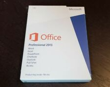 NEW Microsoft Office Professional 2013 Windows, Excel, Word, Access, Publisher