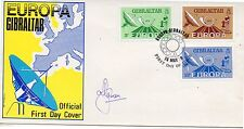 Gibraltar Europa Sobre primer día del año 1979 (DD-783)