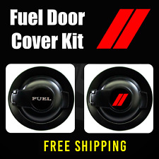Fuel Door Cover Vinyl Decal Kit | Accessory for Challenger Car