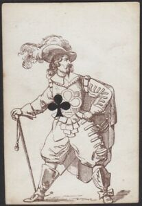Playing Cards 1 Single Old Antique L'HACHETTE Transformation Card - FRENCHMAN