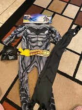 childs Batman costume kids child Small with Mask 344 For 3/4 Years Old