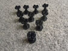 LEGO 3940 2 x 2 x 2 BLACK SUPPORT STAND x10