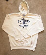 Majestic MLB Detroit Tigers Baseball Hoodie Sweater Mens XL Extra Large  Sports