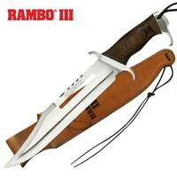 """Rambo III 18"""" Knife Sylvester Stallone Officially Licensed Collectible"""
