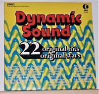 K-Tel - Dynamic Sound- 22 Original Hits & Stars - 1974 Vinyl LP Record Album