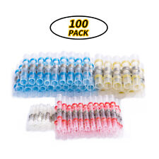 100Pcs Waterproof Auto Car Solder Seal Heat Shrink Wire Connector Terminals