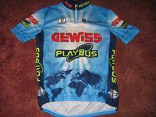 GEWISS PLAYBUS BIANCHI BIEMME CYCLING JERSEY [XL] .