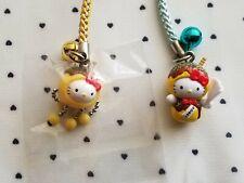 Hello Kitty Phone Strap Charm Kawaii Takoyaki 2pcs