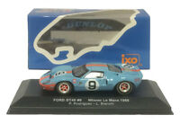 IXO LM1968 Ford GT40 #9 Winner Le Mans 1968 - Rodriguez/Bianchi 1/43 Scale