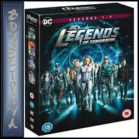 LEGENDS OF TOMORROW COMPLETE SEASONS 1 2 3 4 DC  **BRAND NEW DVD BOXSET ****