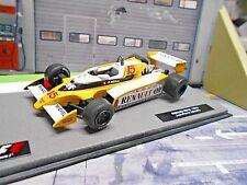 F1 RENAULT RS10 Turbo 1979 #15 Jabouille elf Formula One IXO Altaya 1:43