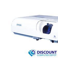 Epson PowerLite S5 2000 Lumins 3LCD MultiMedia Projector 800 x 600 1584 Hours