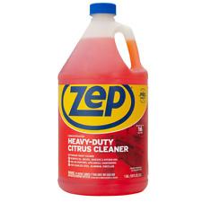 Zep Heavy Duty Citrus Scent Degreaser 128 Oz Kitchen Liquid Cleaner Bottle New