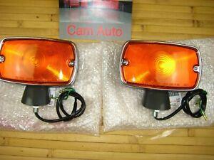 Toyota FJ40 Front Turn Signal Lamp Lights Genuine OEM Toyota 1971-1975 New