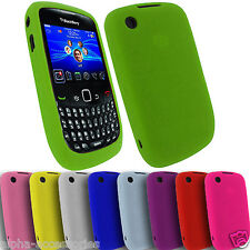 Soft Silicone Hard, Hybrid, TPU Circle, Gel Case Cover For BlackBerry 8520 Curve