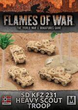Flames of War: Afrika Korps Sd Kfz 231 Heavy Scout Troop