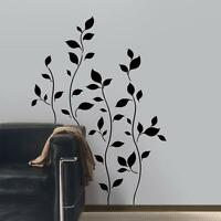 Tree Branch Leaves Removable Wall Decal Vinyl Large Sticker Mural Wall Decor