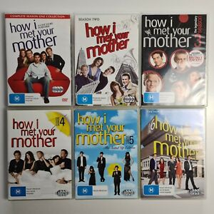 How I Met Your Mother Seasons 1-6 - Region 4 PAL - FREE TRACKED POST - HIMYM